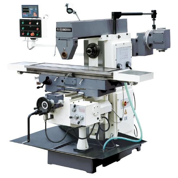 Milling Machines: UK 1000SW KNEE & RAM TYPE UNIVERSAL ...