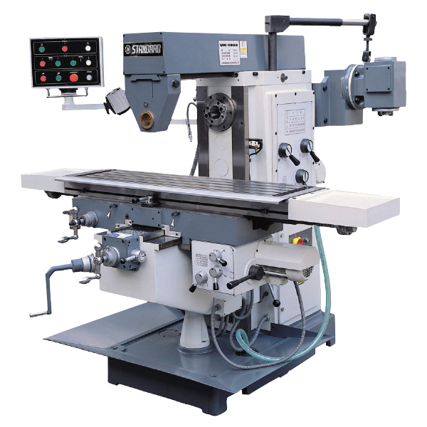Milling Machines: UK 800 KNEE & RAM TYPE UNIVERSAL MILL